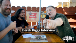 Metal Swap Talk interviews Derek Riggs, artist of Iron Maiden